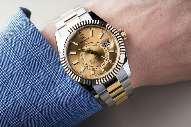 Steel And Gold Rolex Sky,Dweller Copy Watches \u2013 Fine Swiss