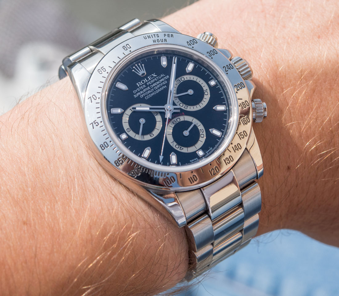 3c3764ce255 Rolex Daytona 116520 In Steel With Black Dial Replica Watches Review – Fine Swiss  Replica Watches  Rolex Cartier IWC Replica Sale