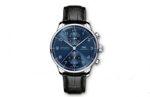 Replica IWC watches with blue dials are accurate.