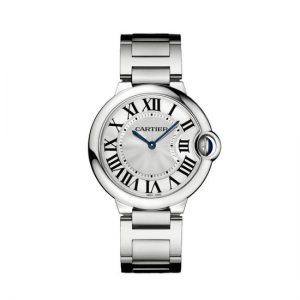 Cartier replica watches with white dials are the most classical.