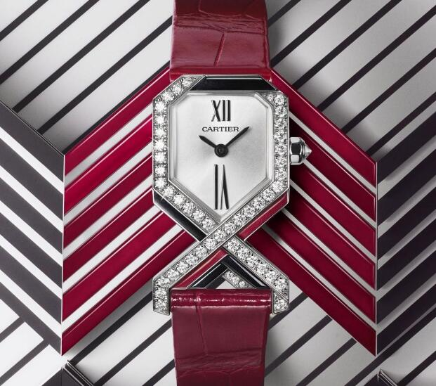 This new Cartier is very distinctive which has been designed with the unique shape and lines.