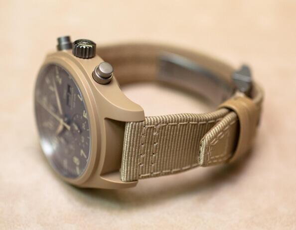 The distinctive IWC will attract all the attention from others.