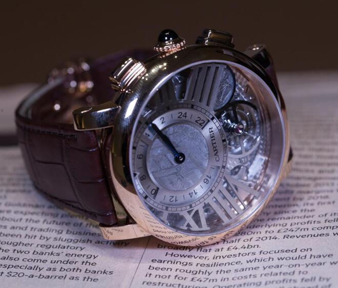 It has presented high level of craftsmanship of watchmaking.