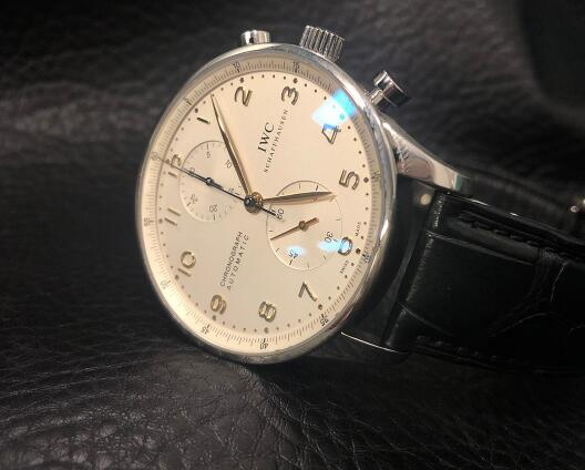 The beautiful IWC Portugieser also performs reliably and accurately.