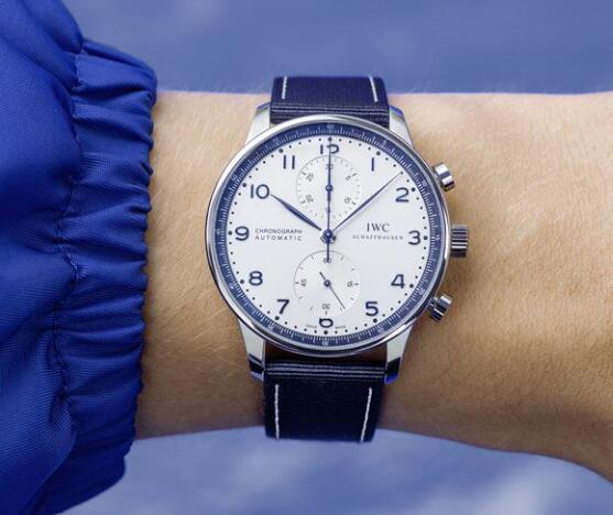 IWC Portugieser looks elegant and charming.