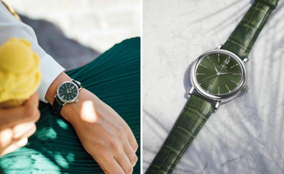 The 34 mm IWC Portofino is a best choice for women.