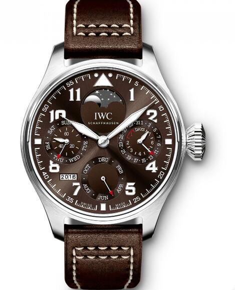 The huge IWC Pilot's watches have attracted numerous tough guys.