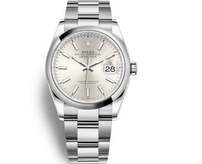 The Rolex has maintained the classical elements of the watch brand.