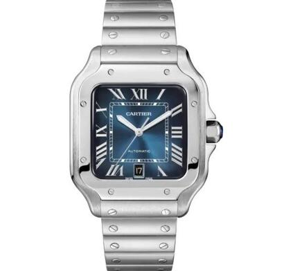 The Santos de Cartier is best choice for modern men.