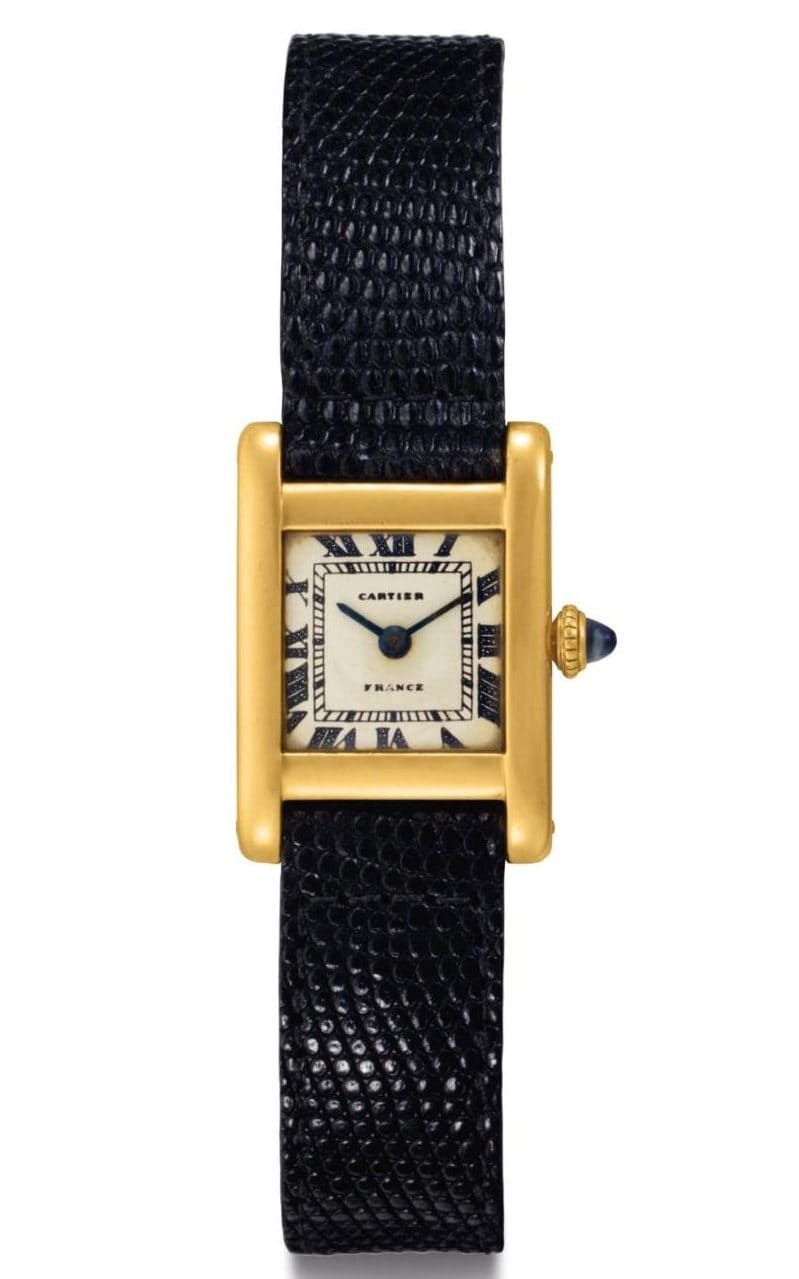 pin verified hand watch cartier tank home wrist by watches expert quartz an second
