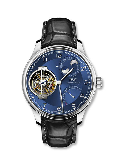IWC Portugieser Replica Watches With Blue Dials
